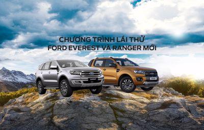 Sự kiện Lái thử Ford Everest & Ranger Mới Tháng 10-11