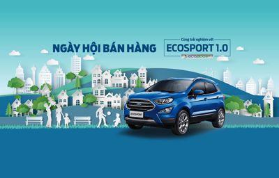 Ngày hội Ecosport - Lái thử xe, Vui nhận Quà lớn (iPhone X/Samsung Note 8)