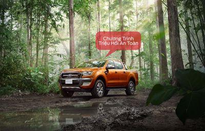 Thông báo: Chương trình triệu hồi an toàn - Thay thế Ống dầu phanh Trước trên xe Ford Ranger