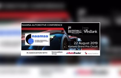 Last Chance to Book for Important NAAMSA Automotive Conference at Kyalami