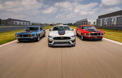 Mustang Mach 1 World Premiere