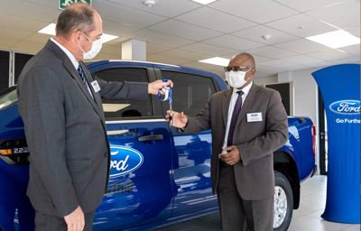Ford Donates Ranger to South Africa Day to Accelerate Economic Upliftment of Towns