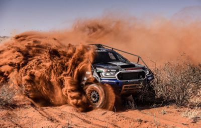Podium finish in the desert for Ford Castrol NWM team, clean sweep of Class T