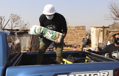 Ford and the Nelson Mandela Foundation Fight Hunger Together