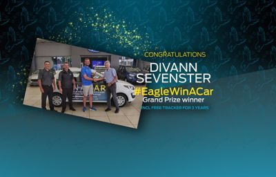Winner of our first ever #EagleWinACar competition announced