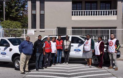 Joins SA Red Cross Society