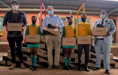 Ford South Africa Funds Veldskoen Shoes for 4 300 Underprivileged School Children