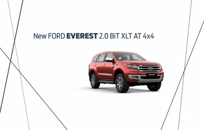 New Ford Everest 2.0 BiT XLT AT 4x4