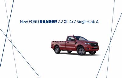 New Ford Ranger 2.2 XL 4x2 Single Cab A