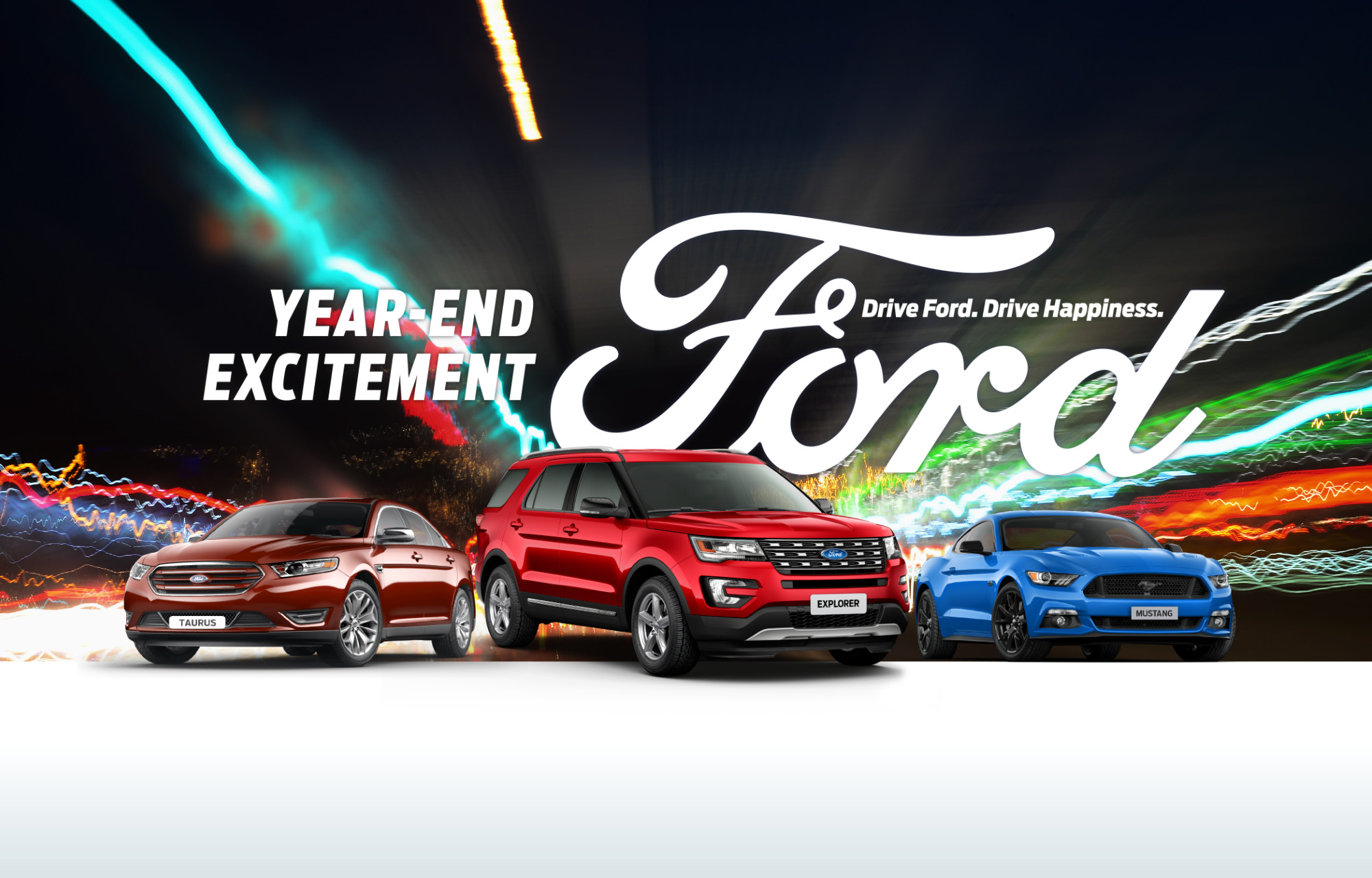 Make this year end exciting with ford offers