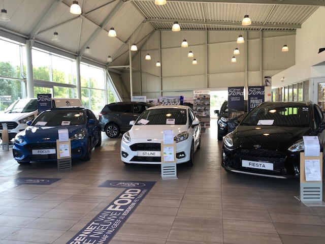 Ford Iriks Showroom