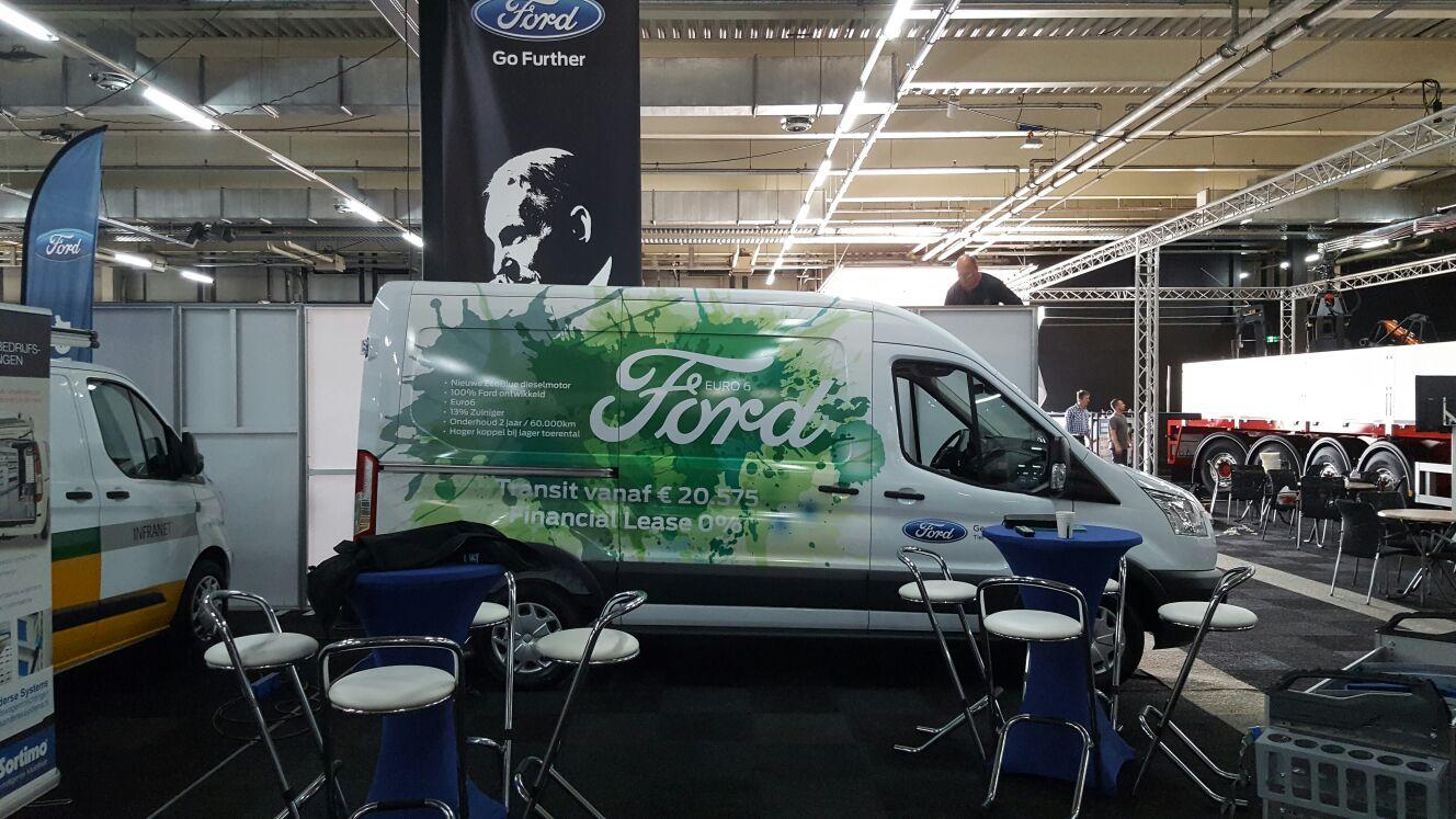 Ford Gerritse Hendriks op Transport Compleet 2016 in Gorinchem