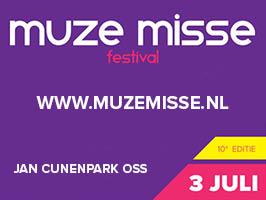 Hendriks sponsor van Muze Misse Festival.