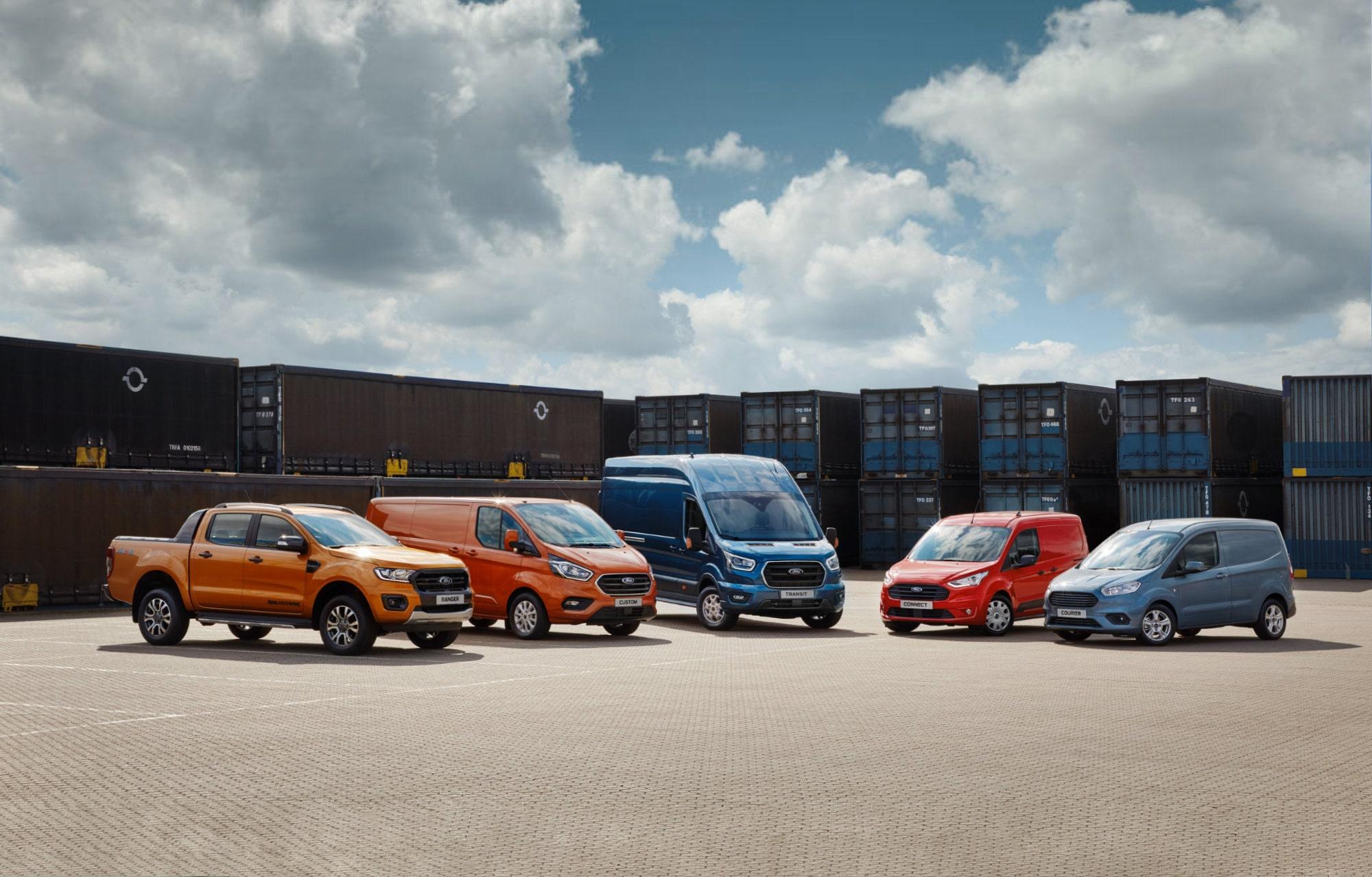 Ford introduceert het Ford Protect Service Plan voor bedrijfswagens