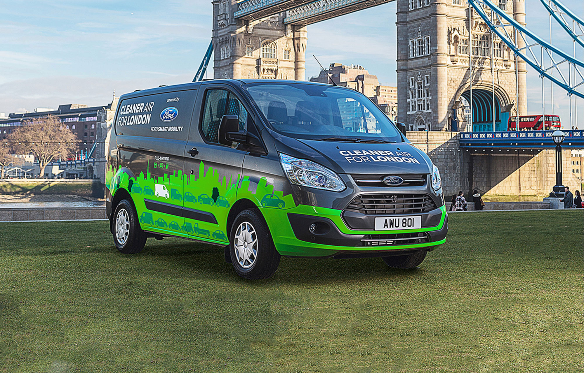 Londen Test Nieuwe Plug In Hybride Bestelauto S Die Kunnen
