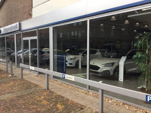 showroom ford korpershoek auto dealer