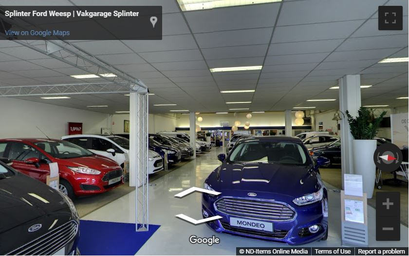 Virtuele Showroom Ford Splinter in Weesp