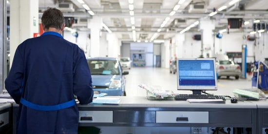 Maak een afspraak voor auto onderhoud of reparatie