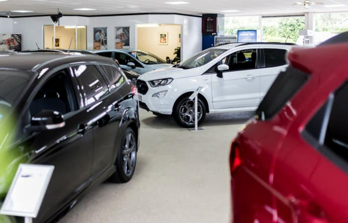 Autocentrum Gennep Showroom