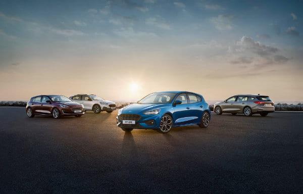 Aanbiedingen nieuwe Ford Focus