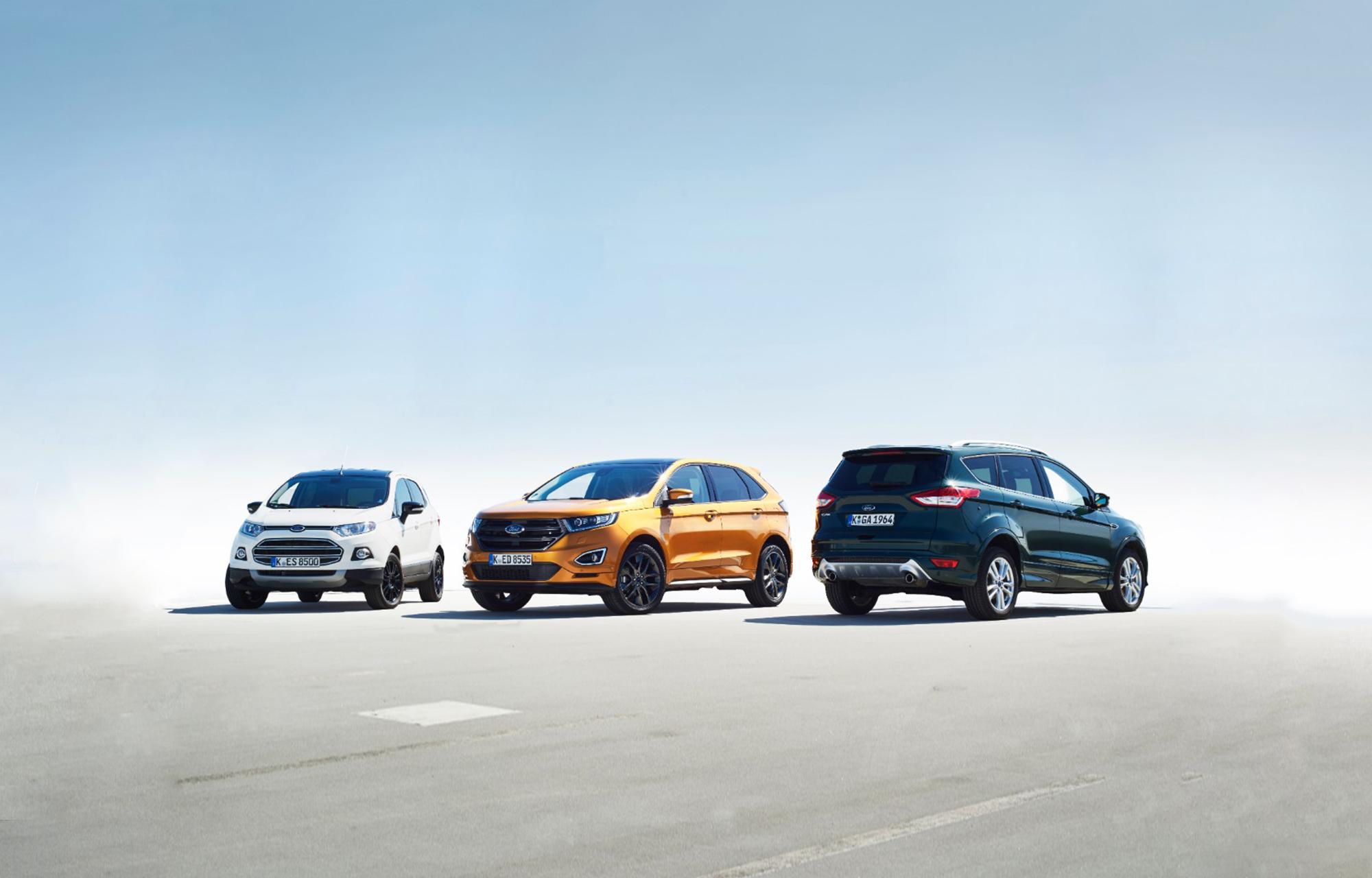 Stimuleren milieubewuste millennials recordverkoop van SUV's? Ford introduceert rond 2020 elektrische SUV met actieradius van 480 kilometer
