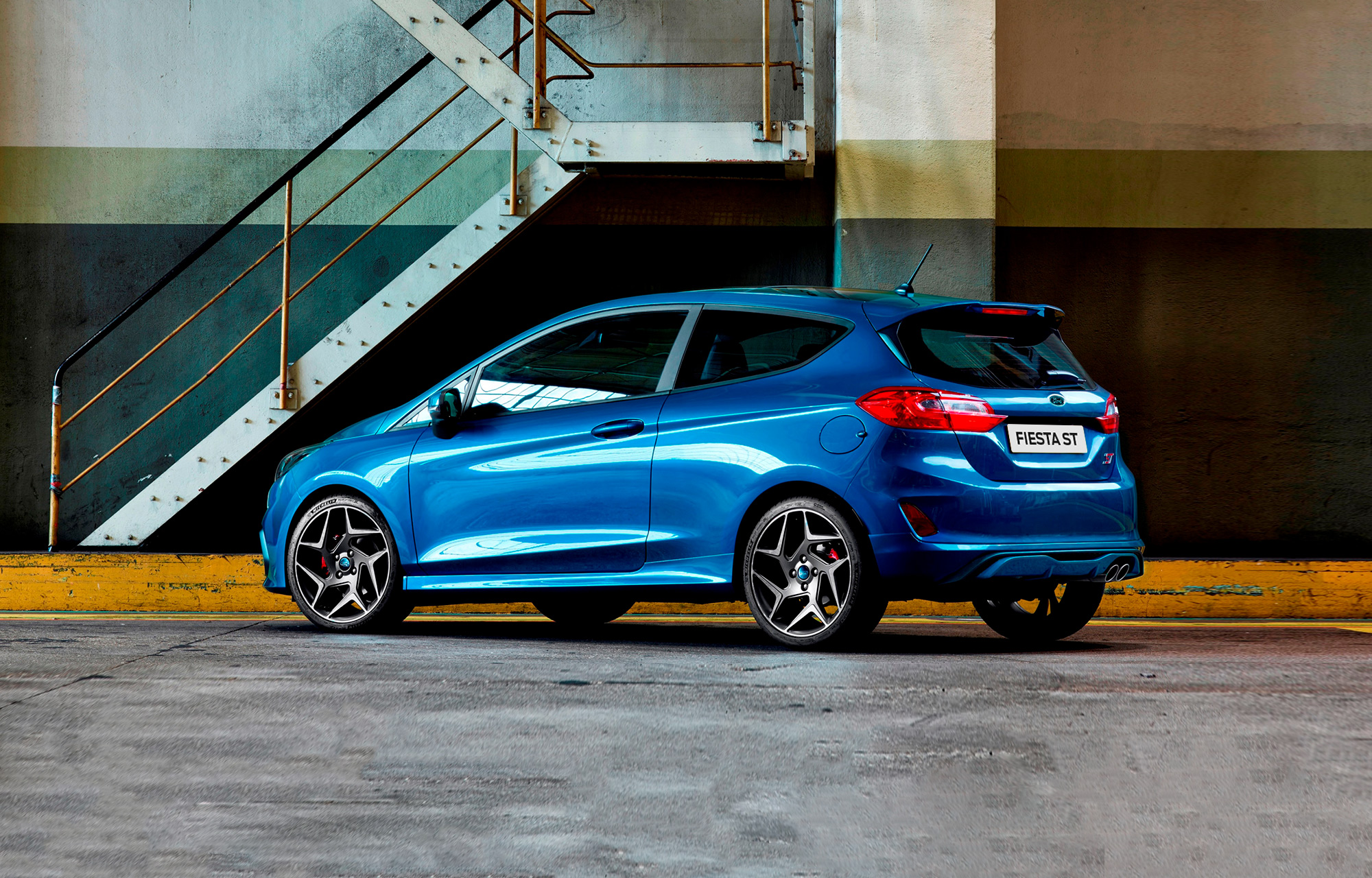 Nieuwe Ford Fiesta ST debuteert in Genève, naast expositie Ford Performance-modellen