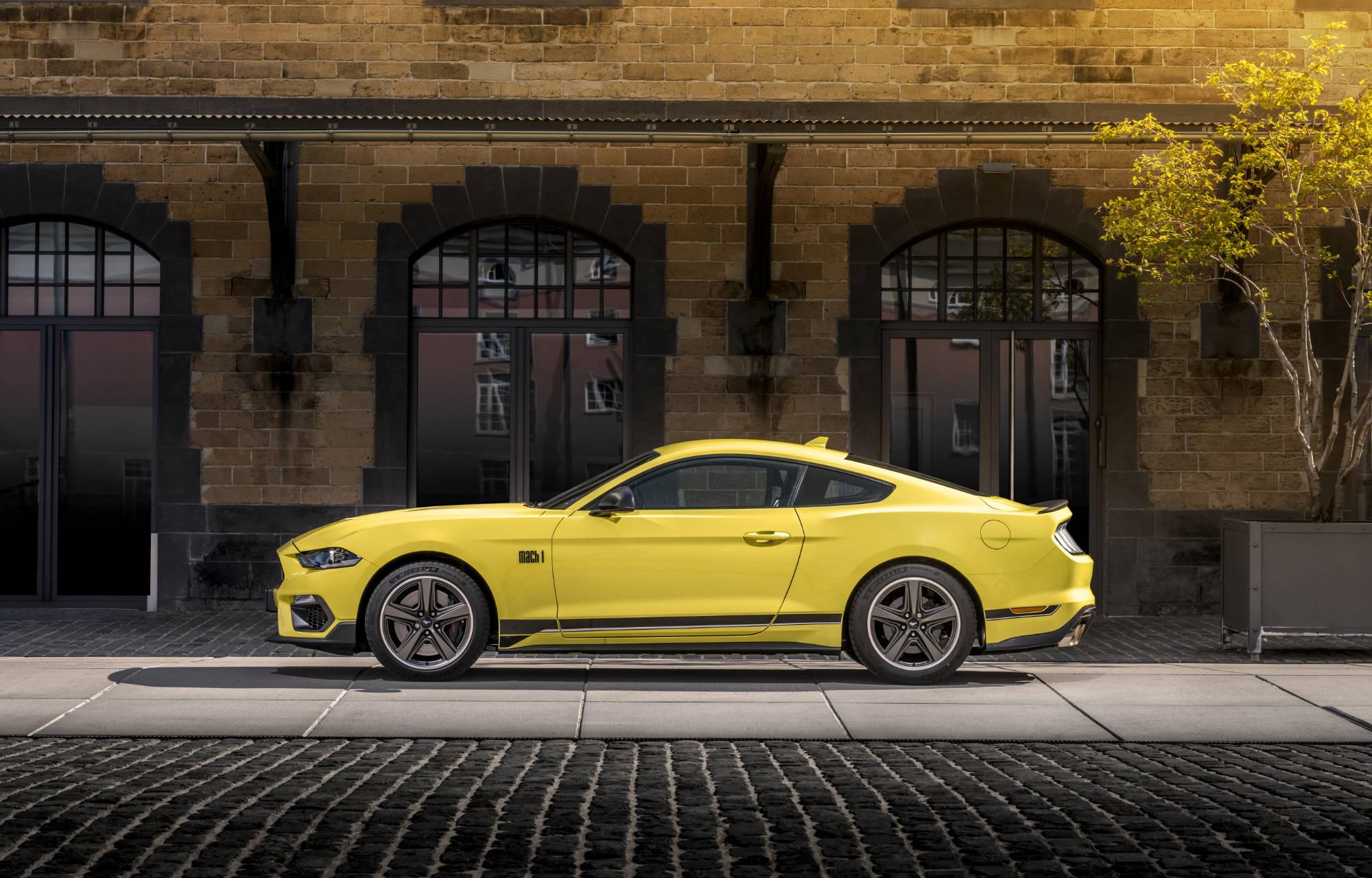 Ford Mustang Mach 1 voor het eerst leverbaar in Europa