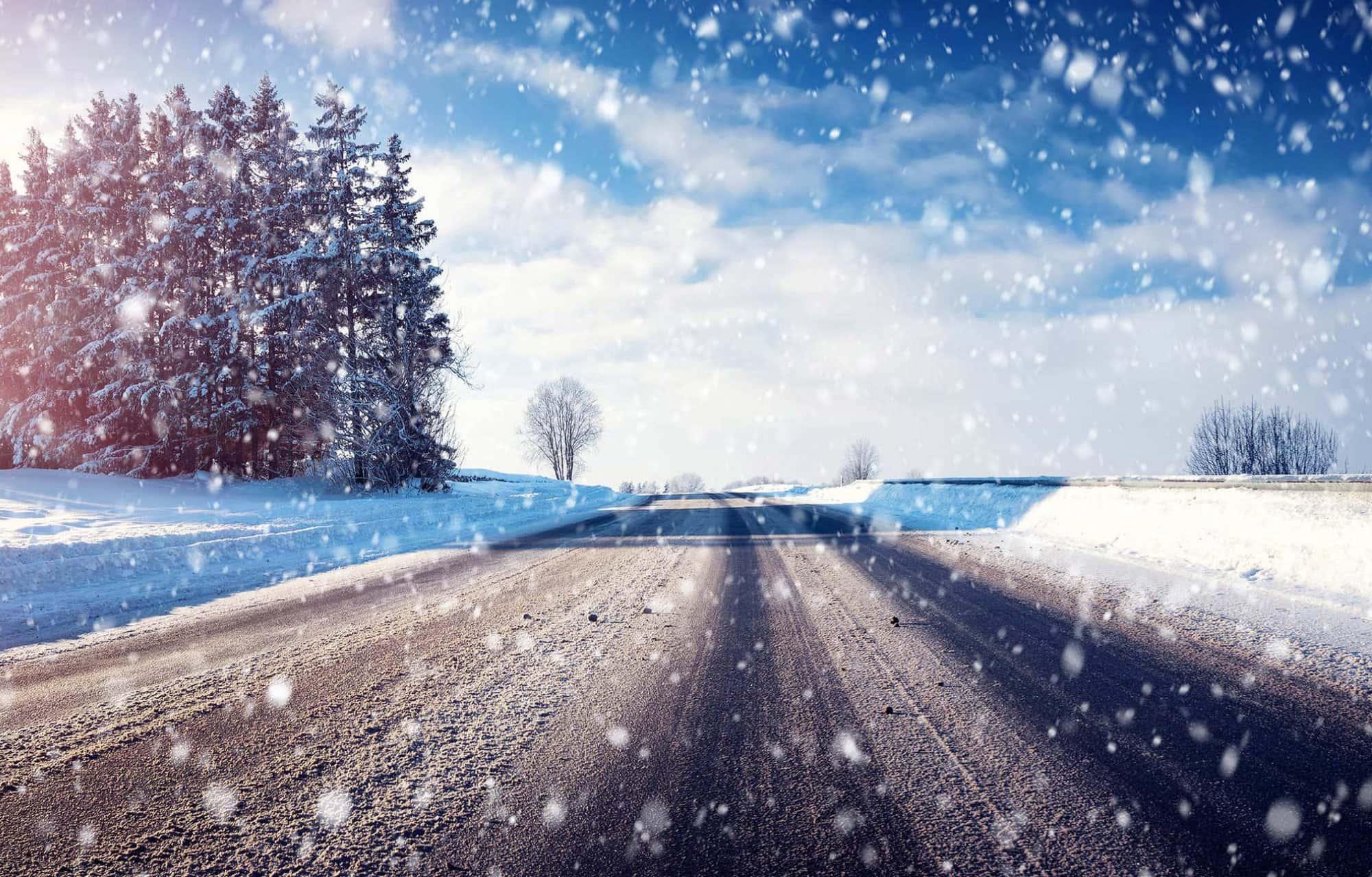 Vinterklar bil