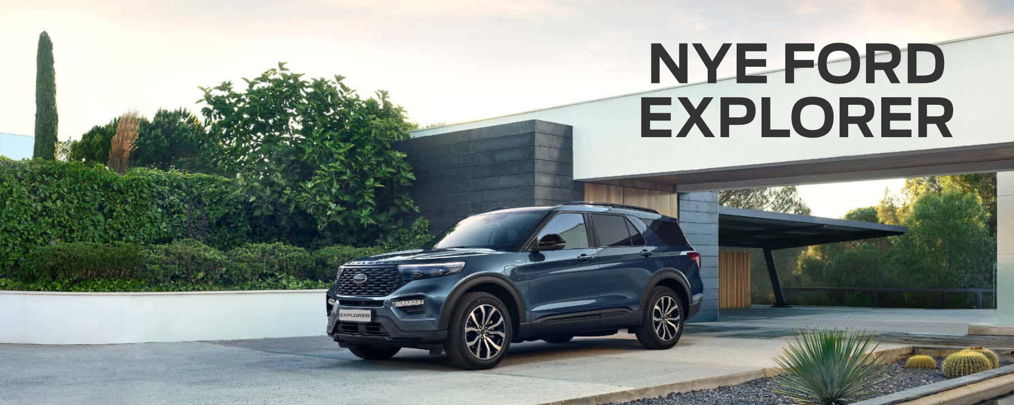 Nye Ford explorer ladbar hybrid