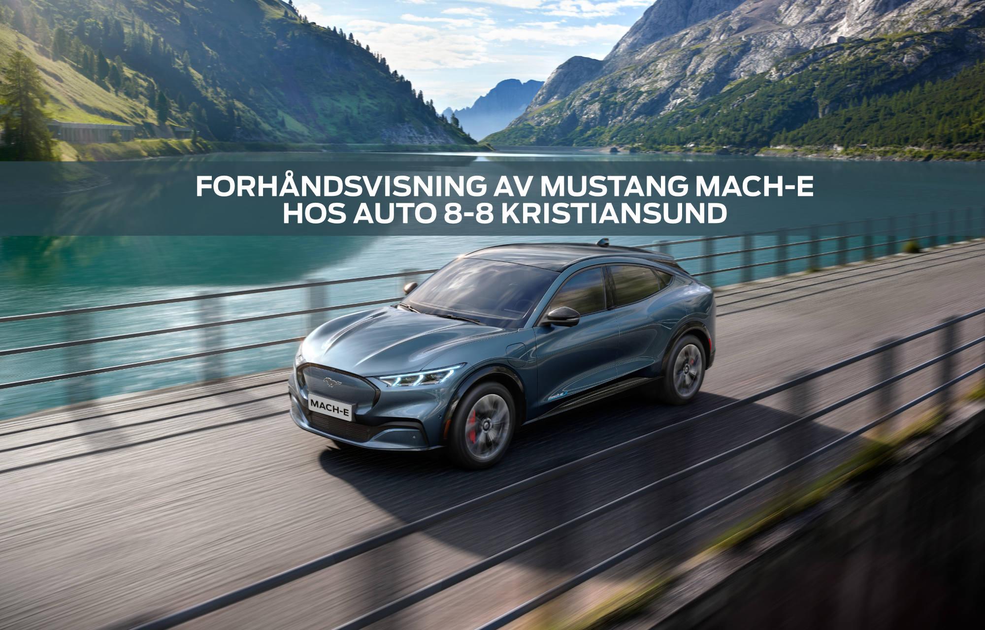 Mustang Mach-E til Kristiansund