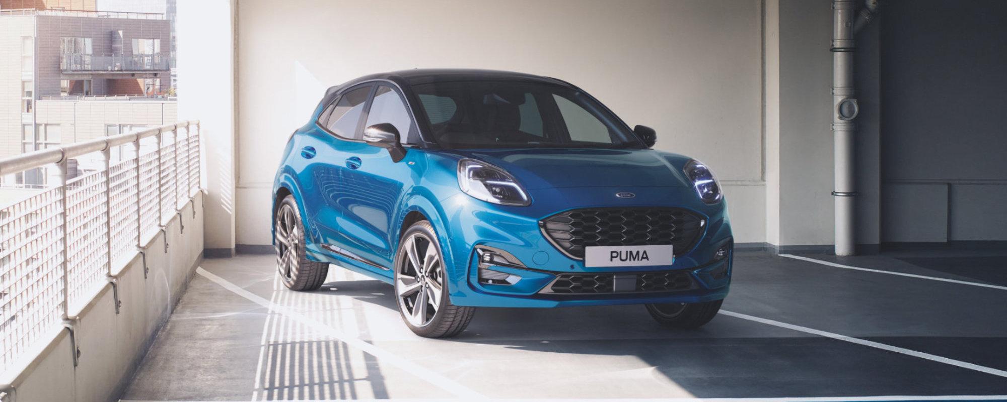 Hunsbedt Bil as i Kvinesdal - Ford Puma
