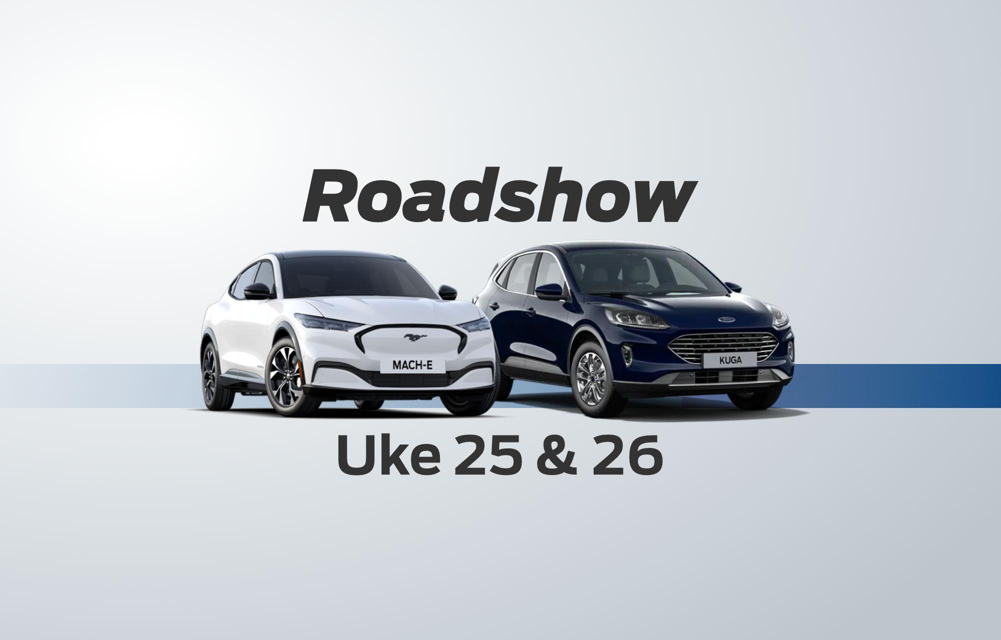 Roadshow uke 25 og 26!