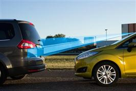"Nye Ford Fiestas sikkerhetsteknologi ""Active City Stop"" fan"