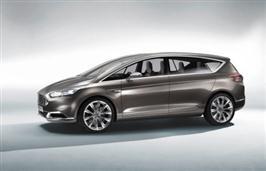Ny Ford S-MAX Concept viser elegant design og avansert tekn