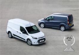 Nye Ford Transit Connect ble kåret til Årets Internasjonale
