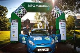 Ford Fiesta vant drivstoffmaraton med 0,26 l/mil.