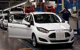 Ford starter produksjonen av nye Fiesta
