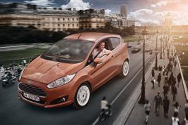 Fiesta mest solgte småbilmodell i Europa, Ford nest mest so