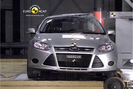 Euro NCAP kåret Ford Focus som best i klassen på sikkerhet.