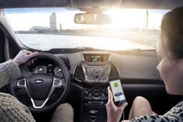 Europeiske Ford-sjåfører får nye apper inklusive TomTom og