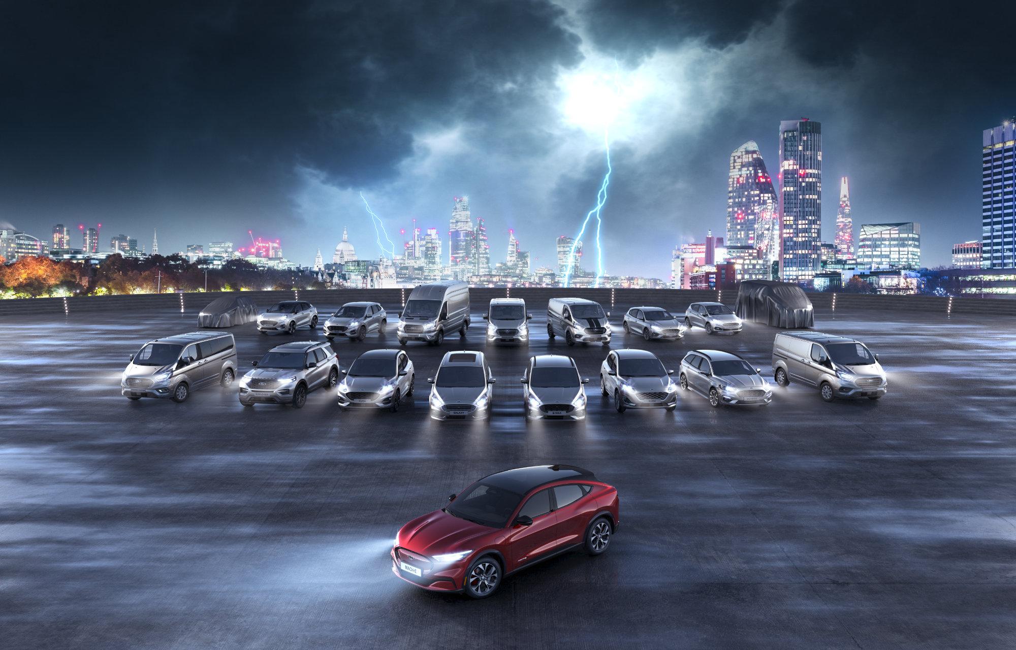 Ford Elektrisk bil FAQ