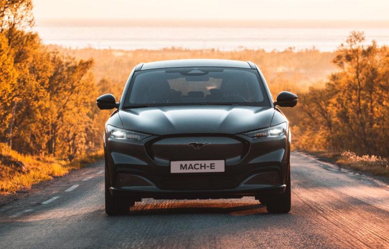 Mustang Mach-E front