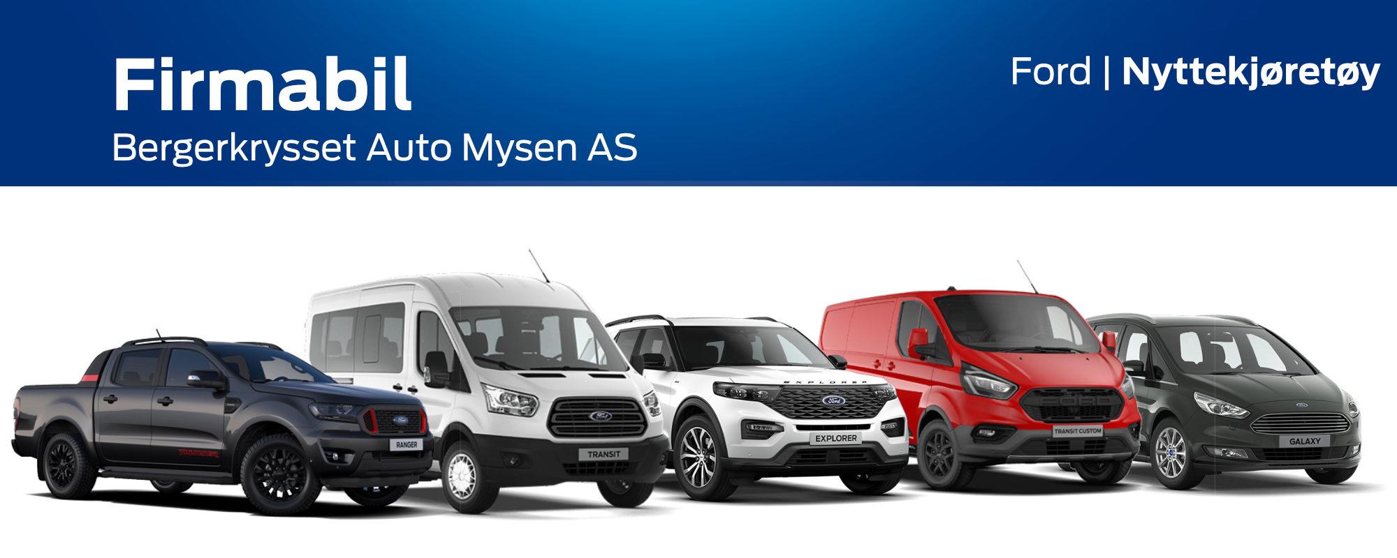 Firmabil - Bergerkrysset Auto Mysen AS