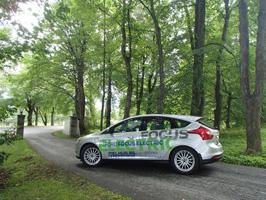 Ford Focus Electric på Mobilitetsuka 2013