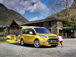 NYE Ford Tourneo Connect fikk 5 stjerner i Euro NCAP!