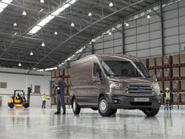 Nye 2-tonns Transit er best i klassen på eierskapskostnader