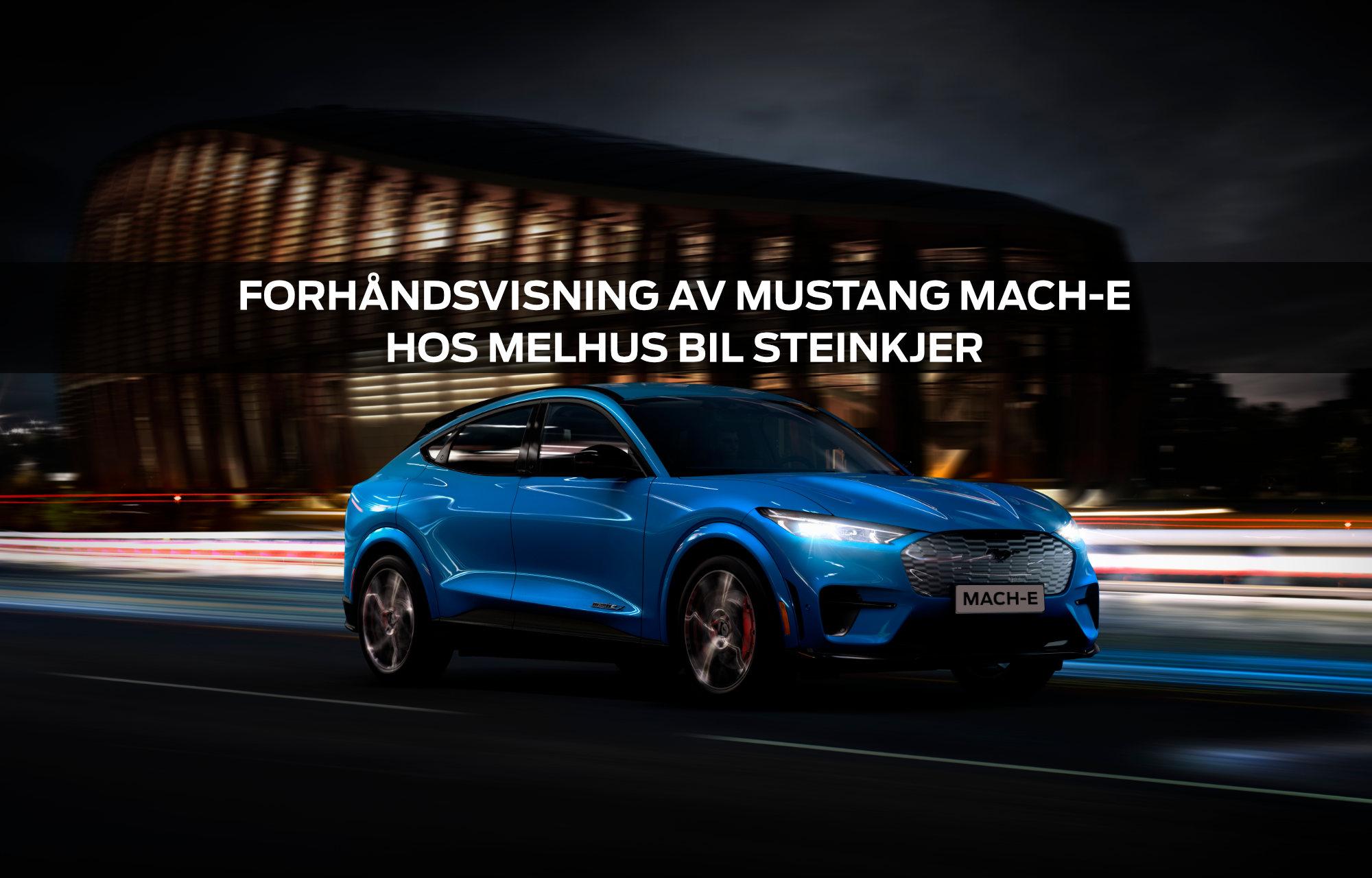 Mustang Mach-E til Steinkjer