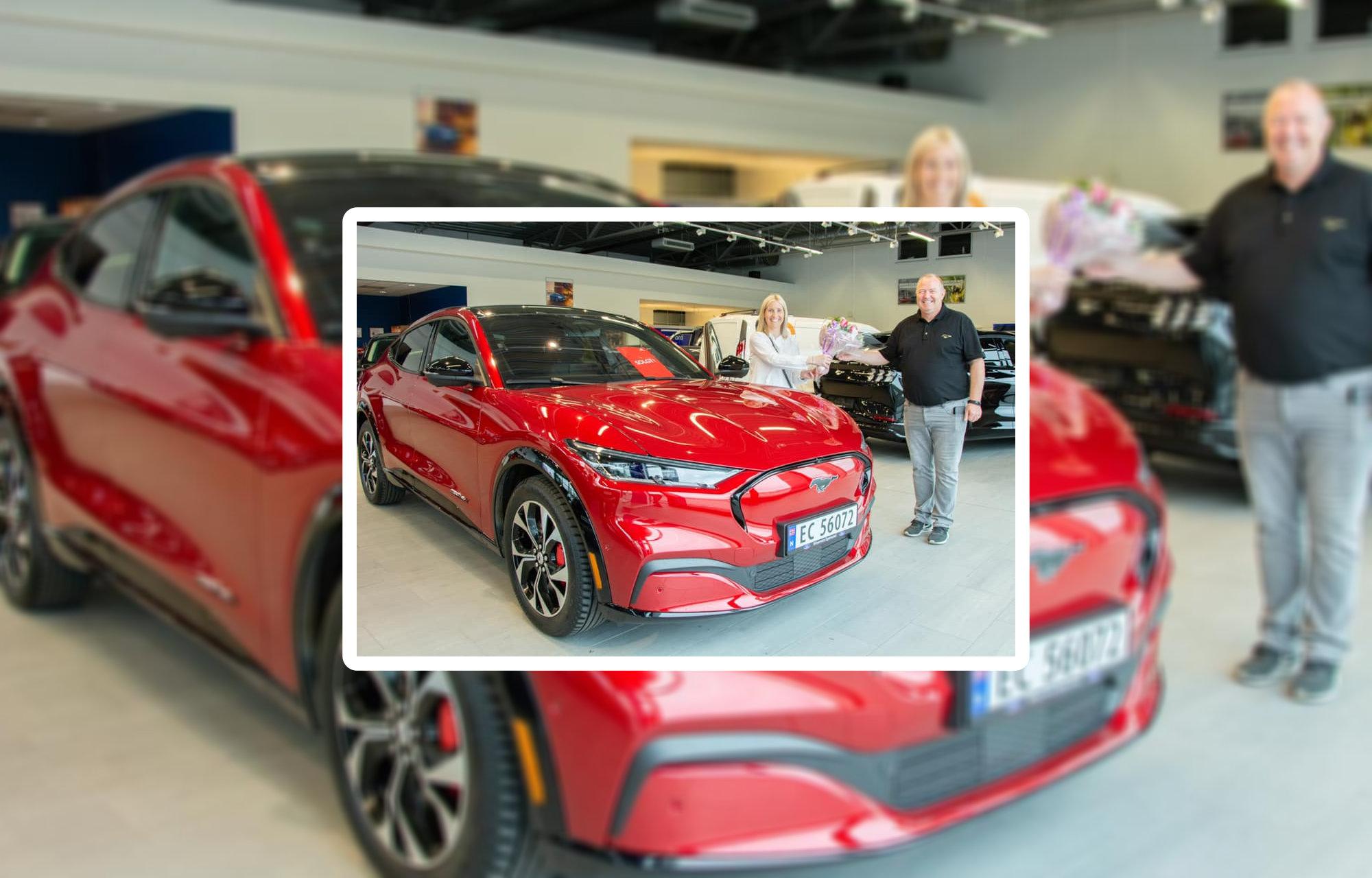 Nå har leveringene av nye Ford Mustang Mach-E begynt