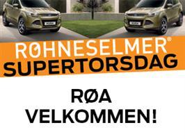 SUPERTORSDAG hos RøhneSelmer Røa 18. april