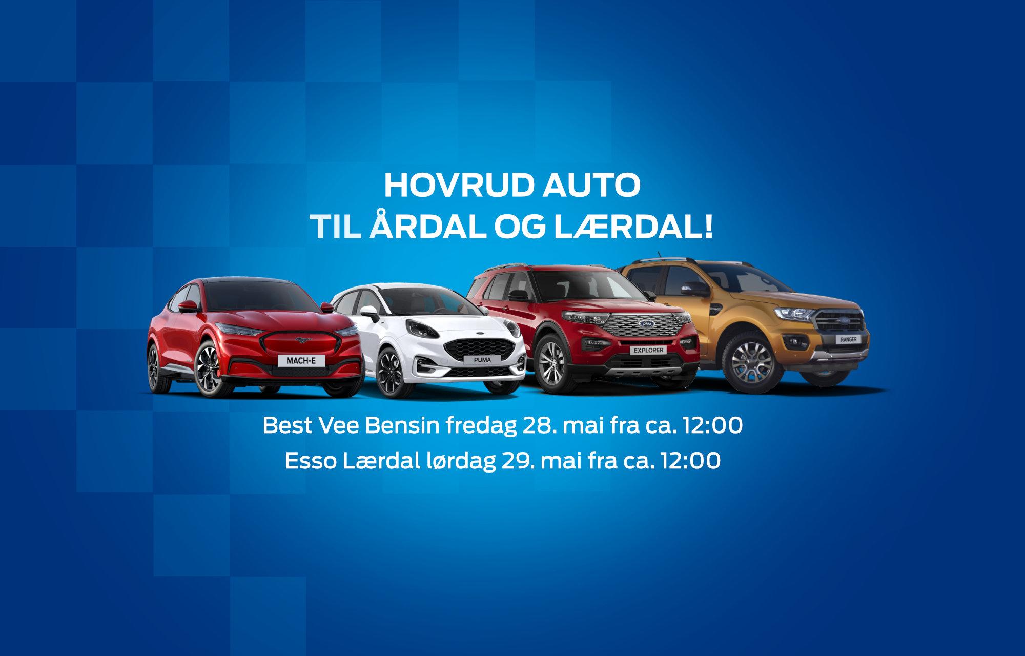 Hovrud Auto til Årdal og Lærdal